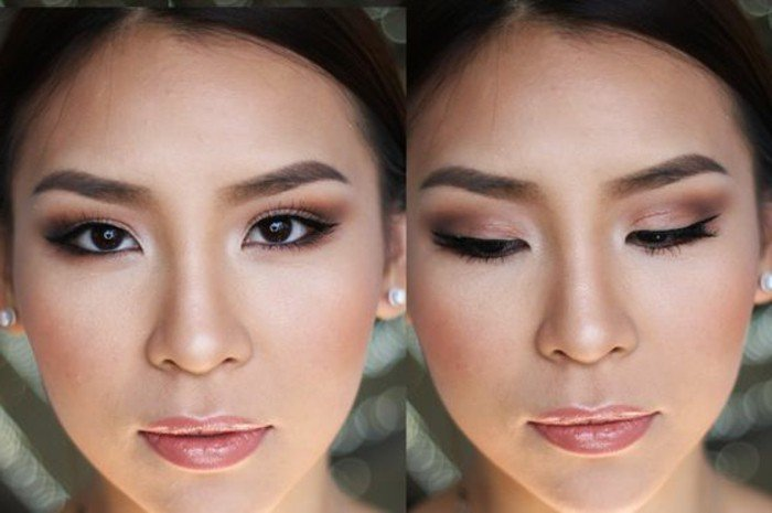 asiatique maquillage korea cute. Black Bedroom Furniture Sets. Home Design Ideas