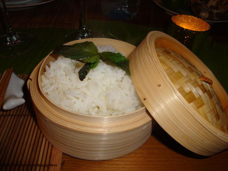 Cuisson riz gluant korea cute for Ustensile de cuisine asiatique