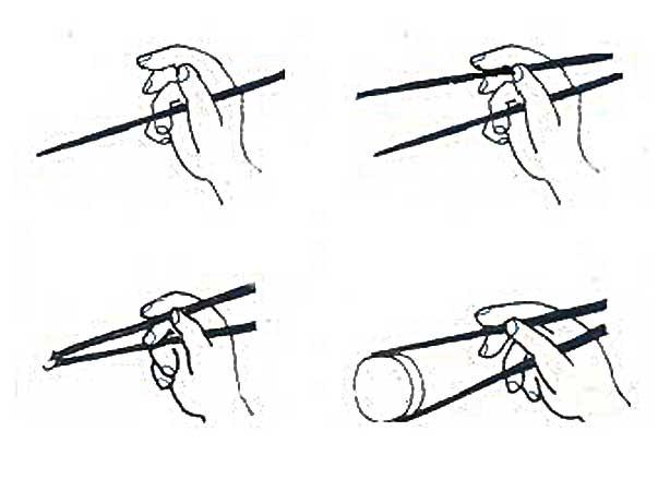 Produit asiatique archives korea cute - Comment tenir des baguettes chinoises ...